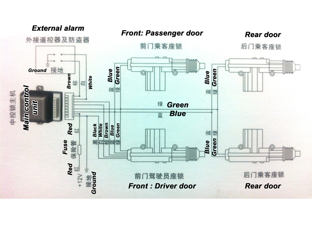 remote control door lock circuit 3