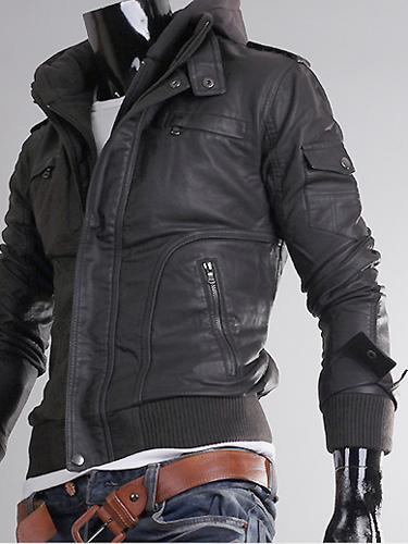 Leather Jackets For Men Ebay