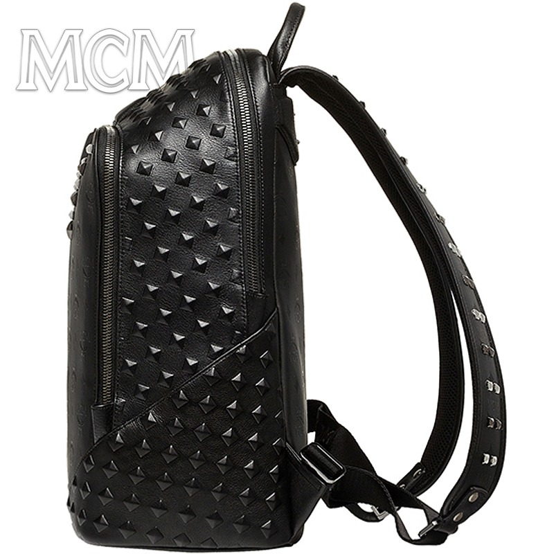 有关以下物品的详细资料: genuine mcm medium backpack duke honshu