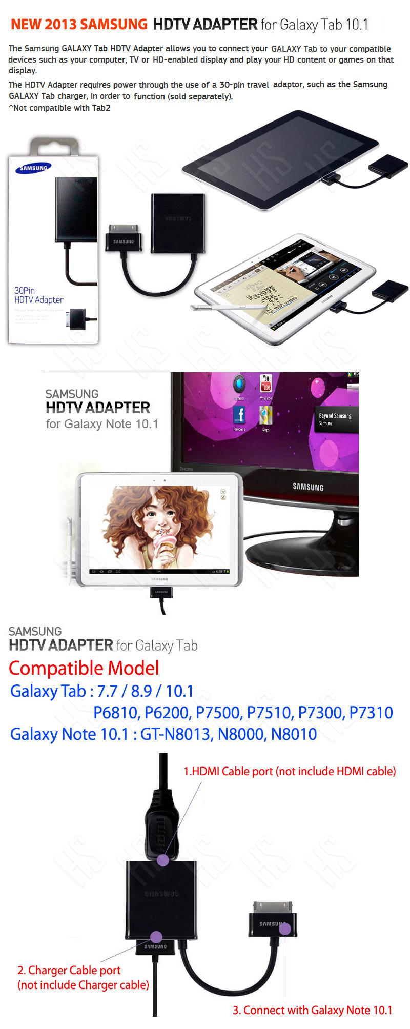 Koneksi Samsung Galaxy Note 10.1 N8000 Ke infocus/proyektor/Lcd TV