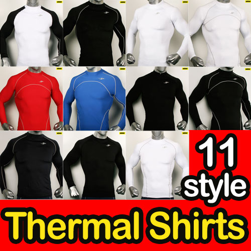 Compression-winter-thermal-11-styles-Long-sleeve-shirts-sports-base-under-layer