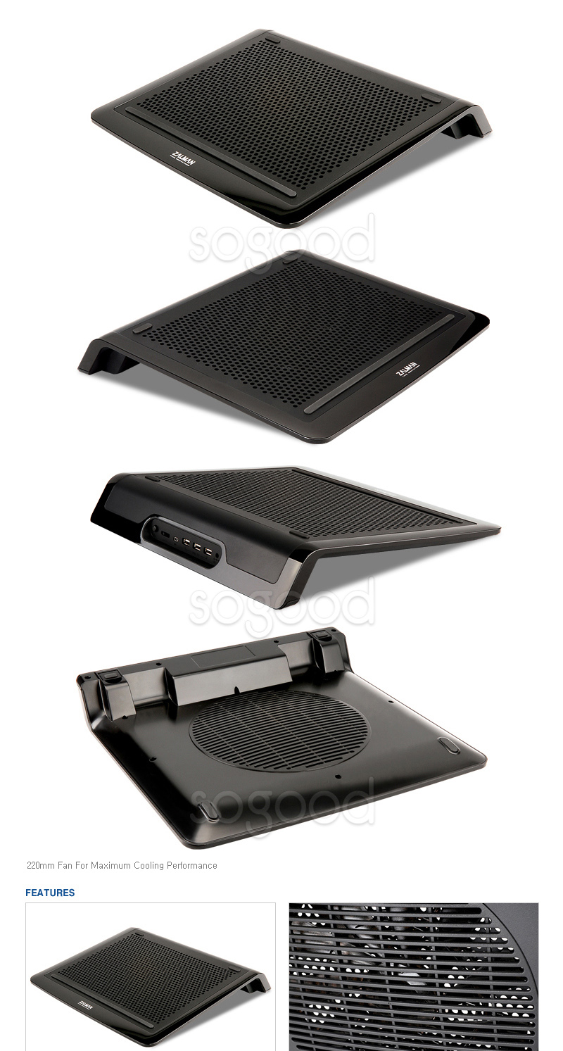 ... ] New ZALMAN ZM-NC3000U Laptop Notebook Cooling Pad Cooler Stand USB