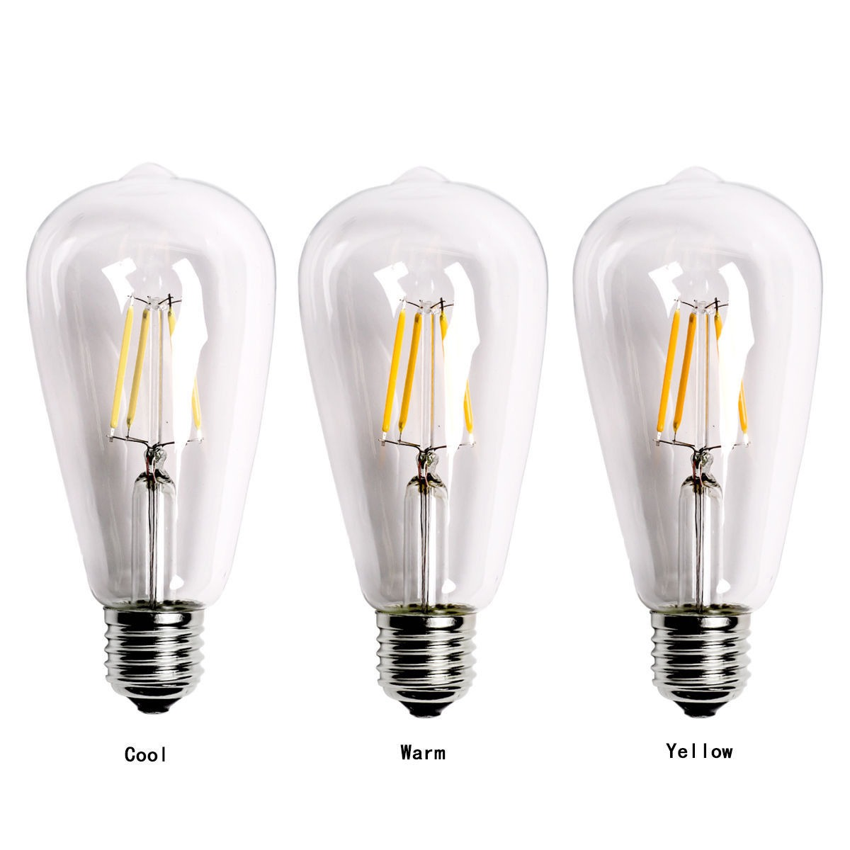 new vintage e27 60w edison screw led energy filament bulb. Black Bedroom Furniture Sets. Home Design Ideas