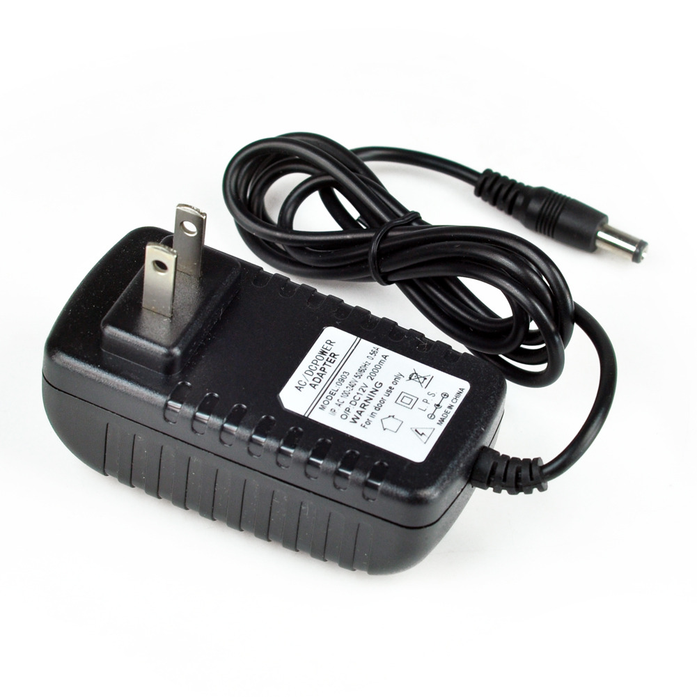 dc 12v 2a 2 0a switching power supply adapter for 110v 240v ac 50 60hz 2 1mm ebay. Black Bedroom Furniture Sets. Home Design Ideas