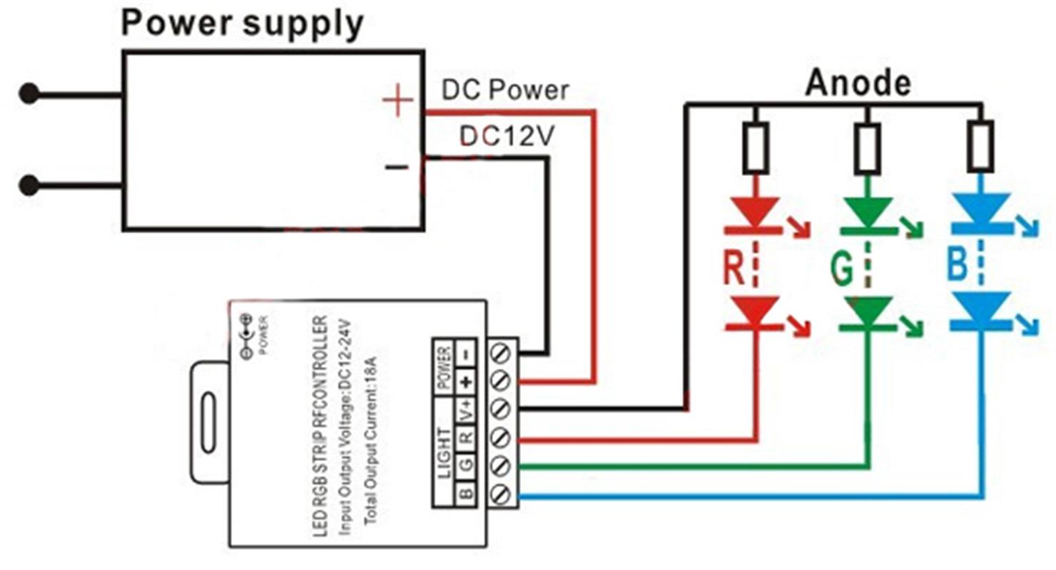 Диммер для светодиодной ленты 12 Вольт: виды, подключение 46