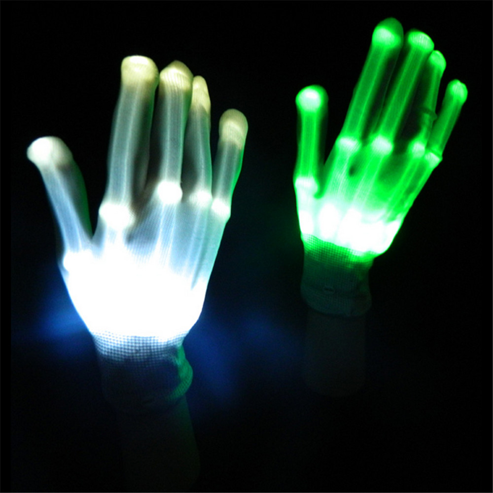 Finger light shows