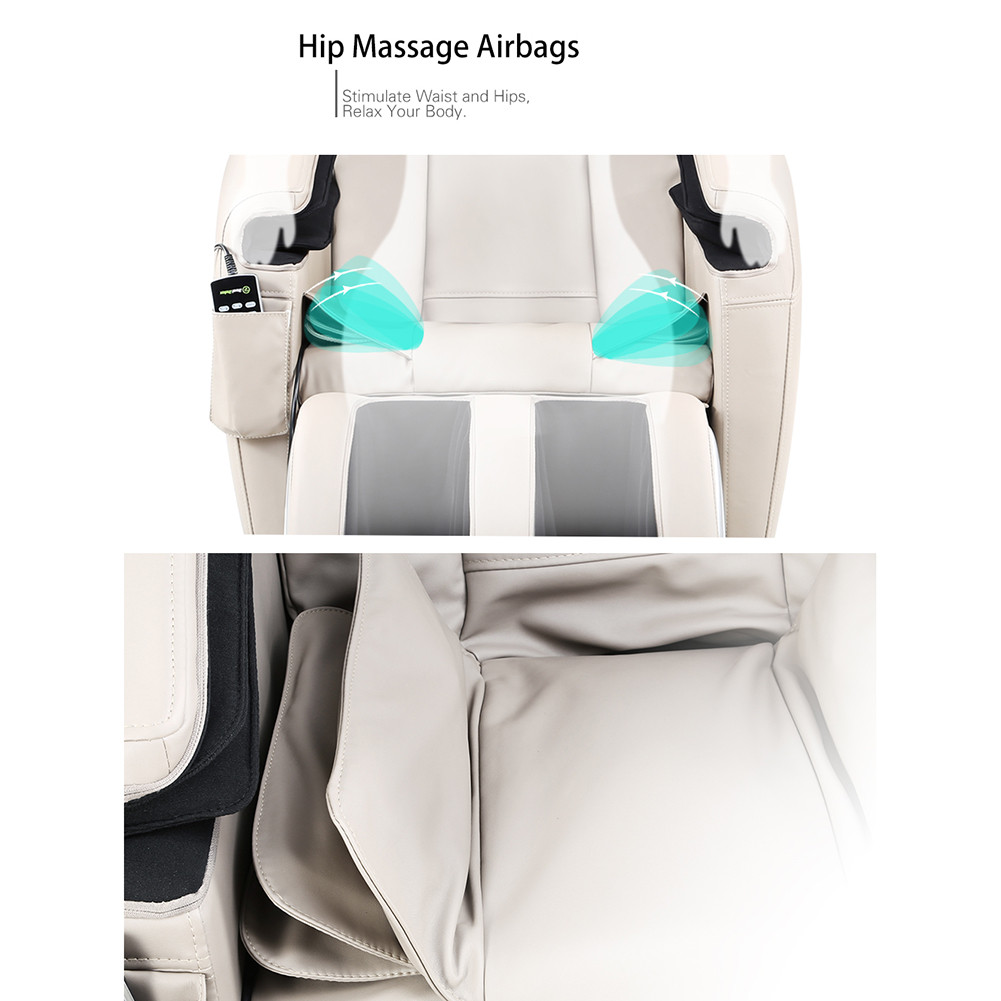Zero Gravity Full Body Massage Chair 2017 real relax full body shiatsu massage chair recliner zero
