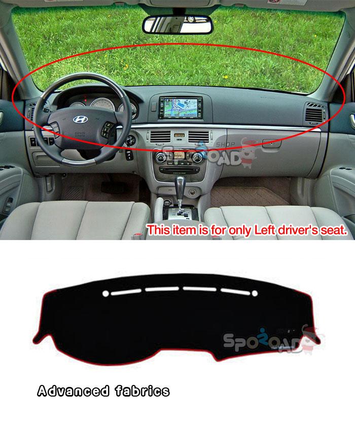 Honda Element 2003-2006 Velour Dash Board Cover Mat Grey
