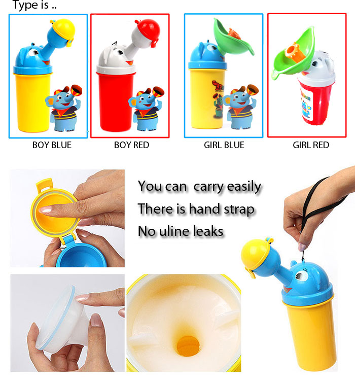 Toys For Potty Training : Coco kids portable potty toddler baby urinal