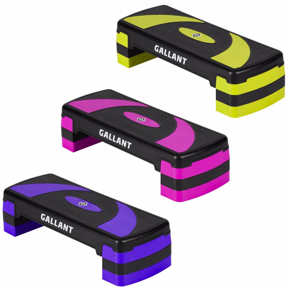 Gallant 3 Level Aerobic Stepper Adjustable Yoga Step Board