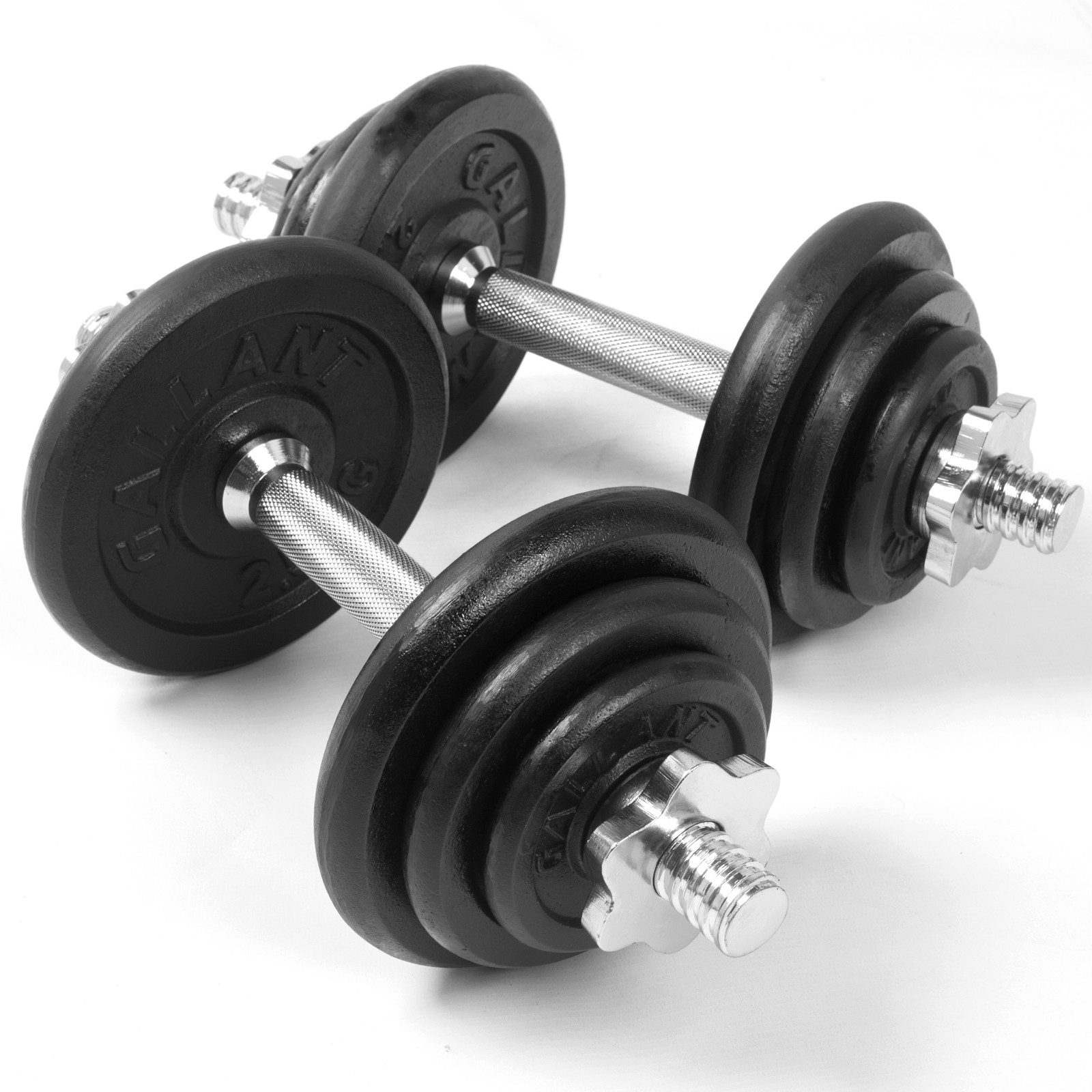 Free Weights Strength Training: Weights 20kg Dumbbell Set Dumbbells Fitness Free Training