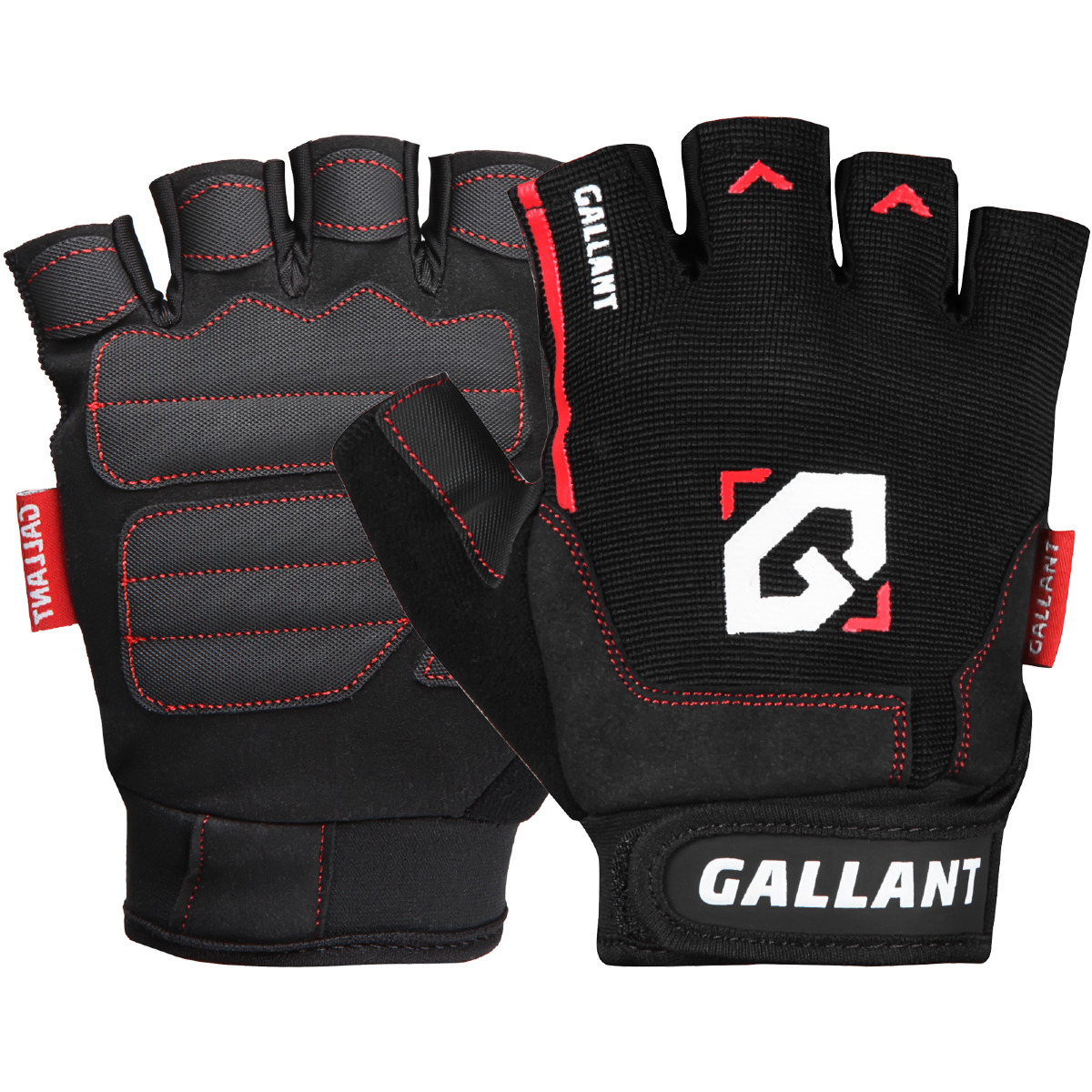 Gym Gloves Weight Lifting Leather Wrist Support Glove Aud: Gallant Gel Weight Lifting Gym Gloves Body Building