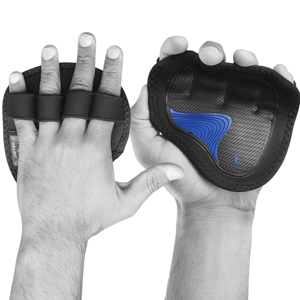 Neoprene Weight Lift Training Workout Gym Palm Exercise: Gallant Weight Lifting Gym Grips Pads Hand Training Bar
