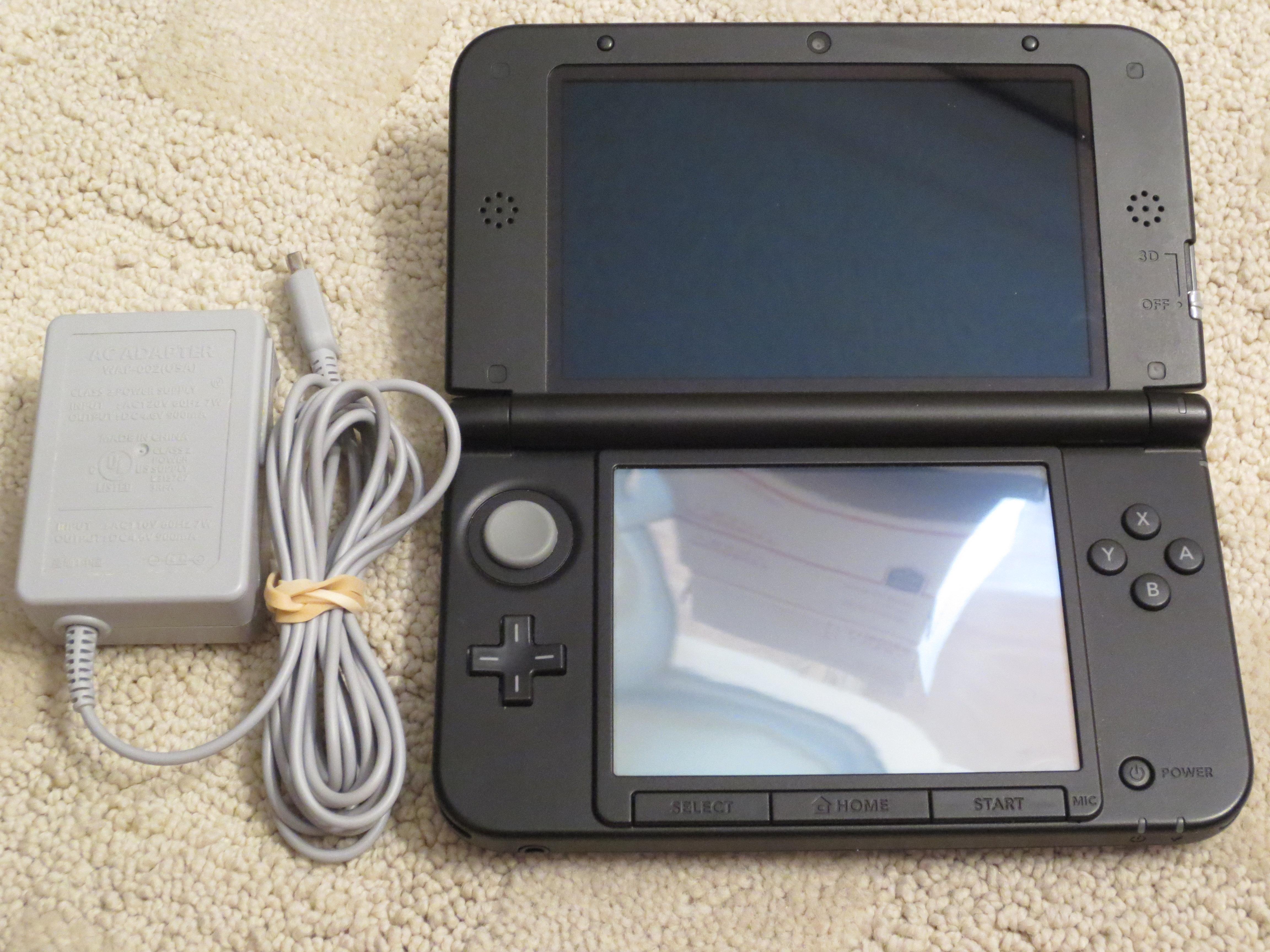 Nintendo 3ds xl latest model blue black handheld system sprsbka1 ebay - Nintendo 3ds handheld console ...