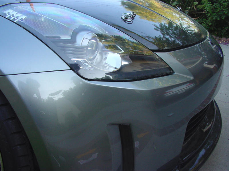 How To Paint 06 Headlights Nissan 350z Forum Nissan