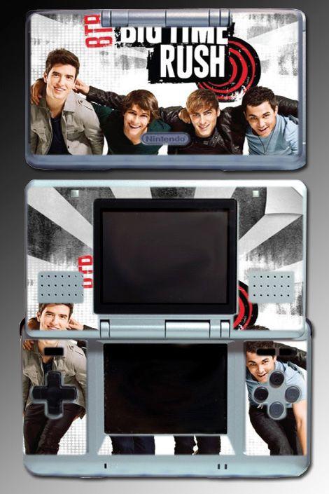 Big Time Rush BTR Band Music SKIN #3 for Nintendo DS