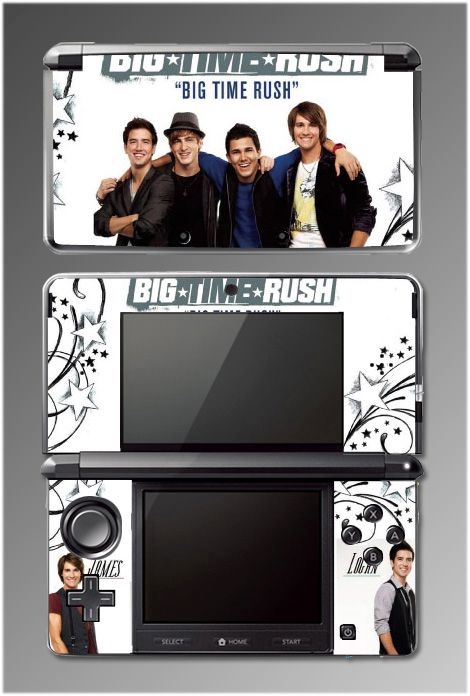 Big Time Rush BTR Kendall James SKIN #4 Nintendo 3DS