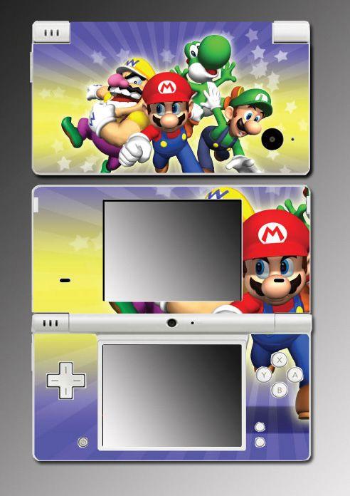 New Super Mario Bros Yoshi Game Skin #11 Nintendo DSi