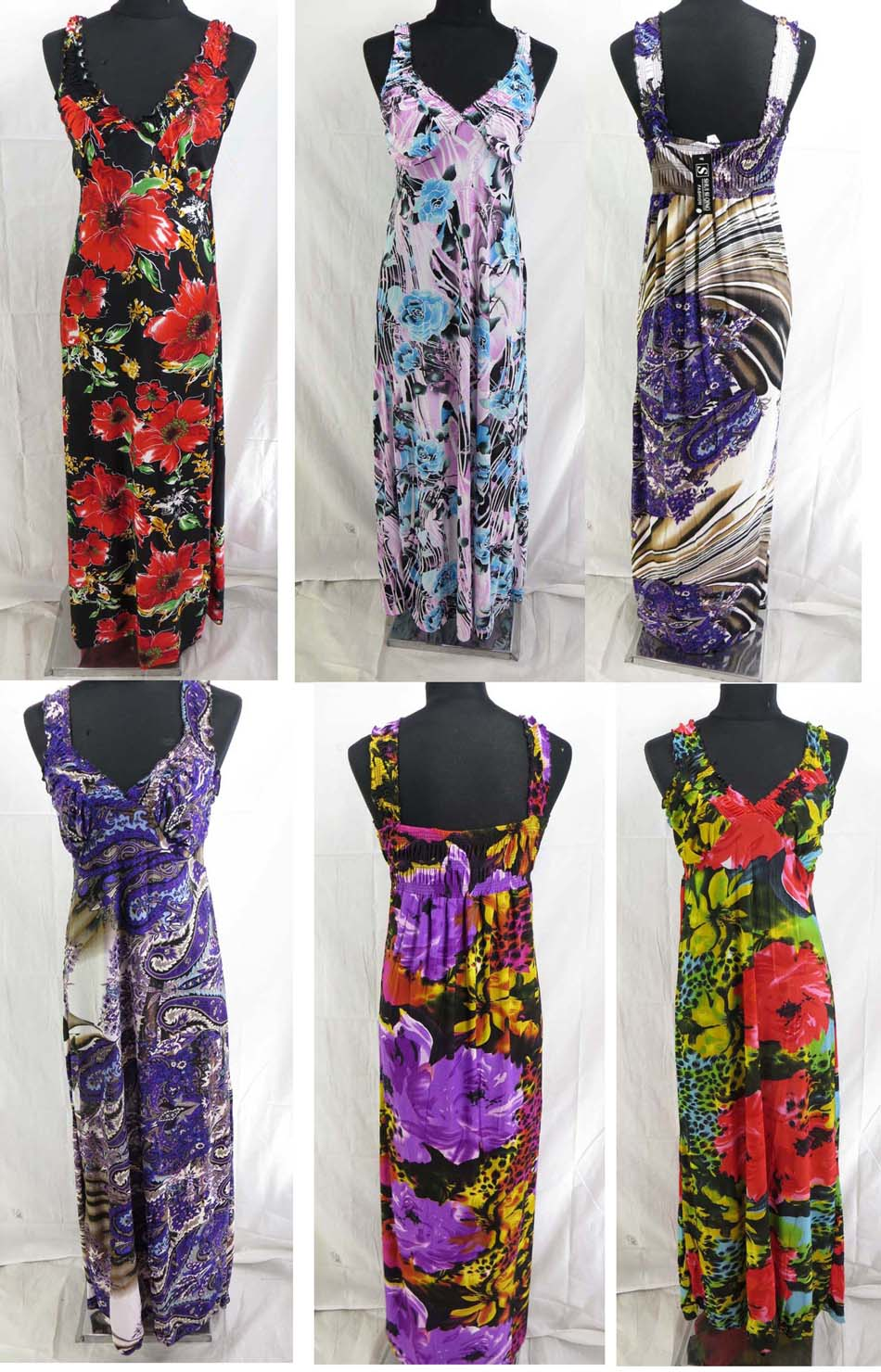 $9 each 20 pcs wholesale maxi dresses beach long dress bulk cheap ...