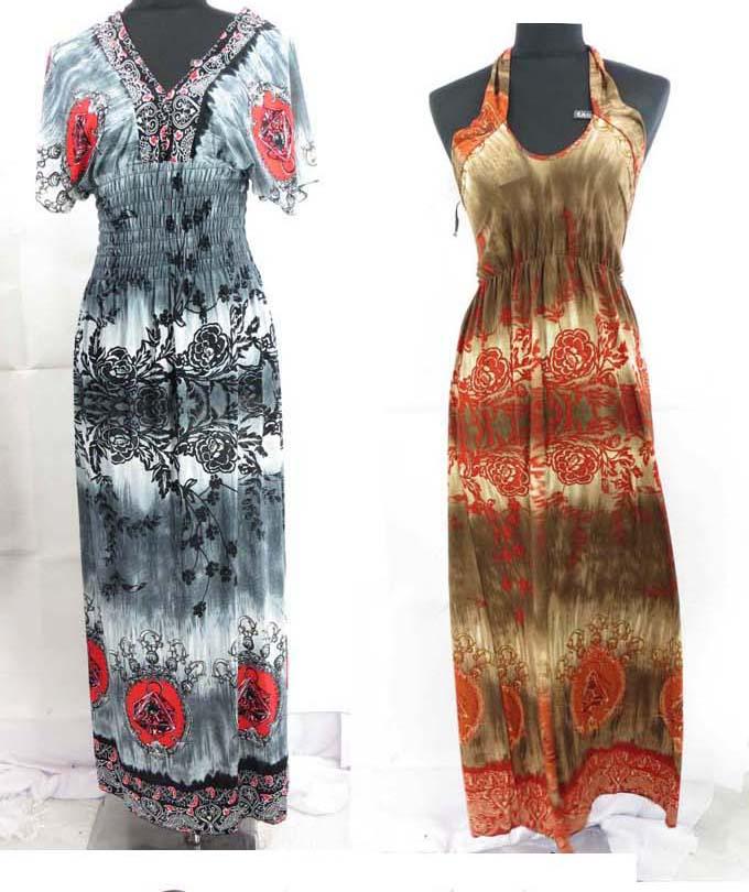 10 pcs wholesale dresses bargain price summer