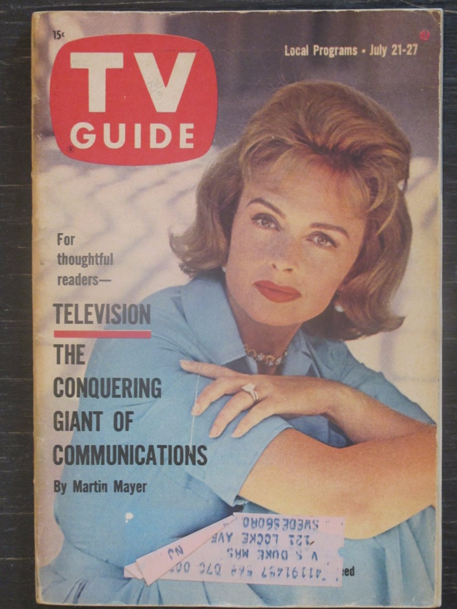TV Guide Magazine July 21, 1962 Donna Reed