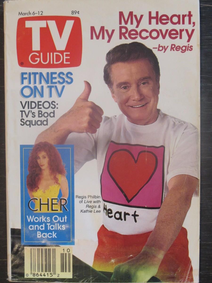 TV Guide Magazine March 6, 1993 Regis Philbin