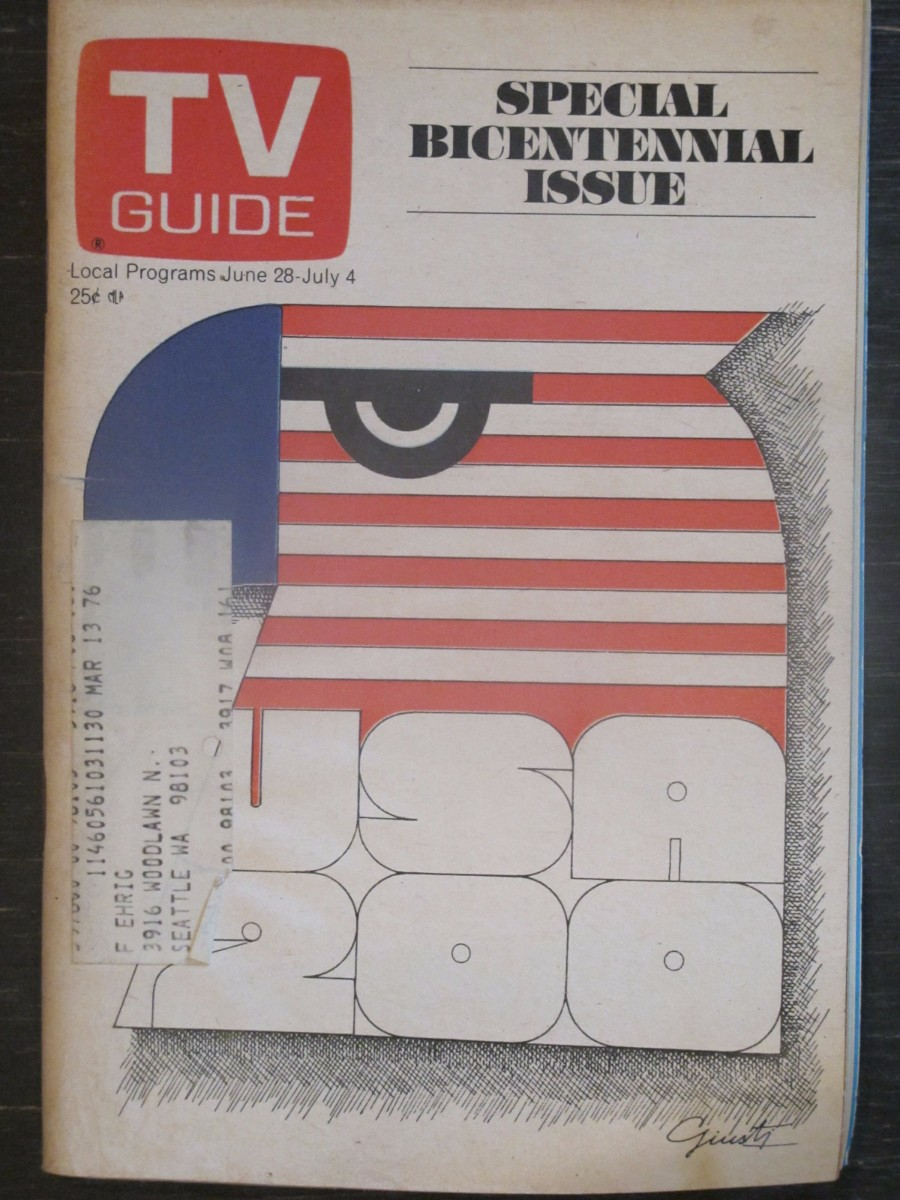 TV Guide Magazine June 28, 1975 Special Bicentennial Issue