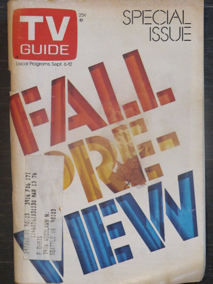 TV Guide Magazine September 6, 1985 Fall Preview