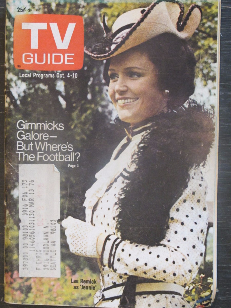 TV Guide Magazine October 4, 1975 Lee Remick as Jennie