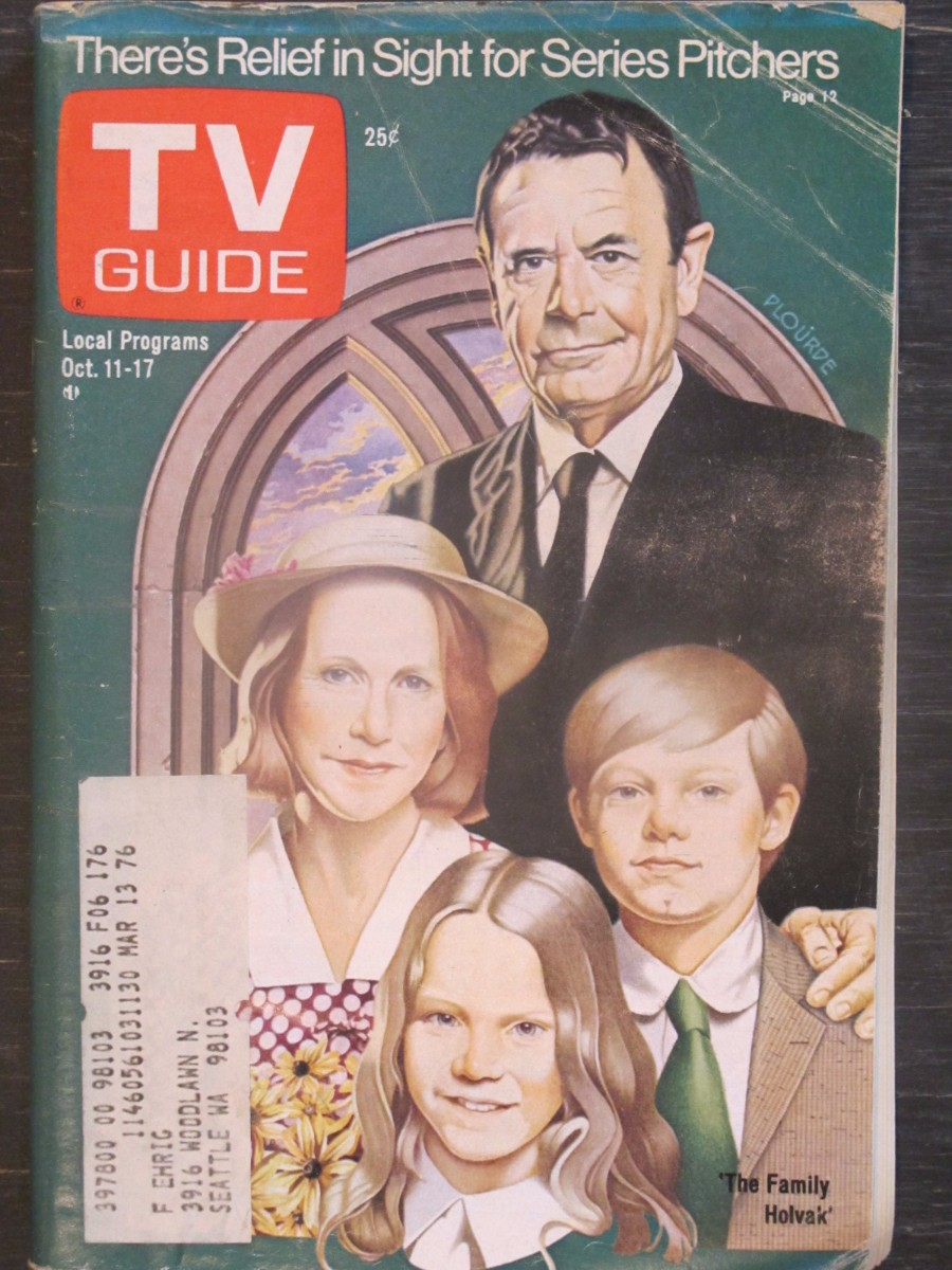 TV Guide Magazine October 11, 1975 The Family Holvak