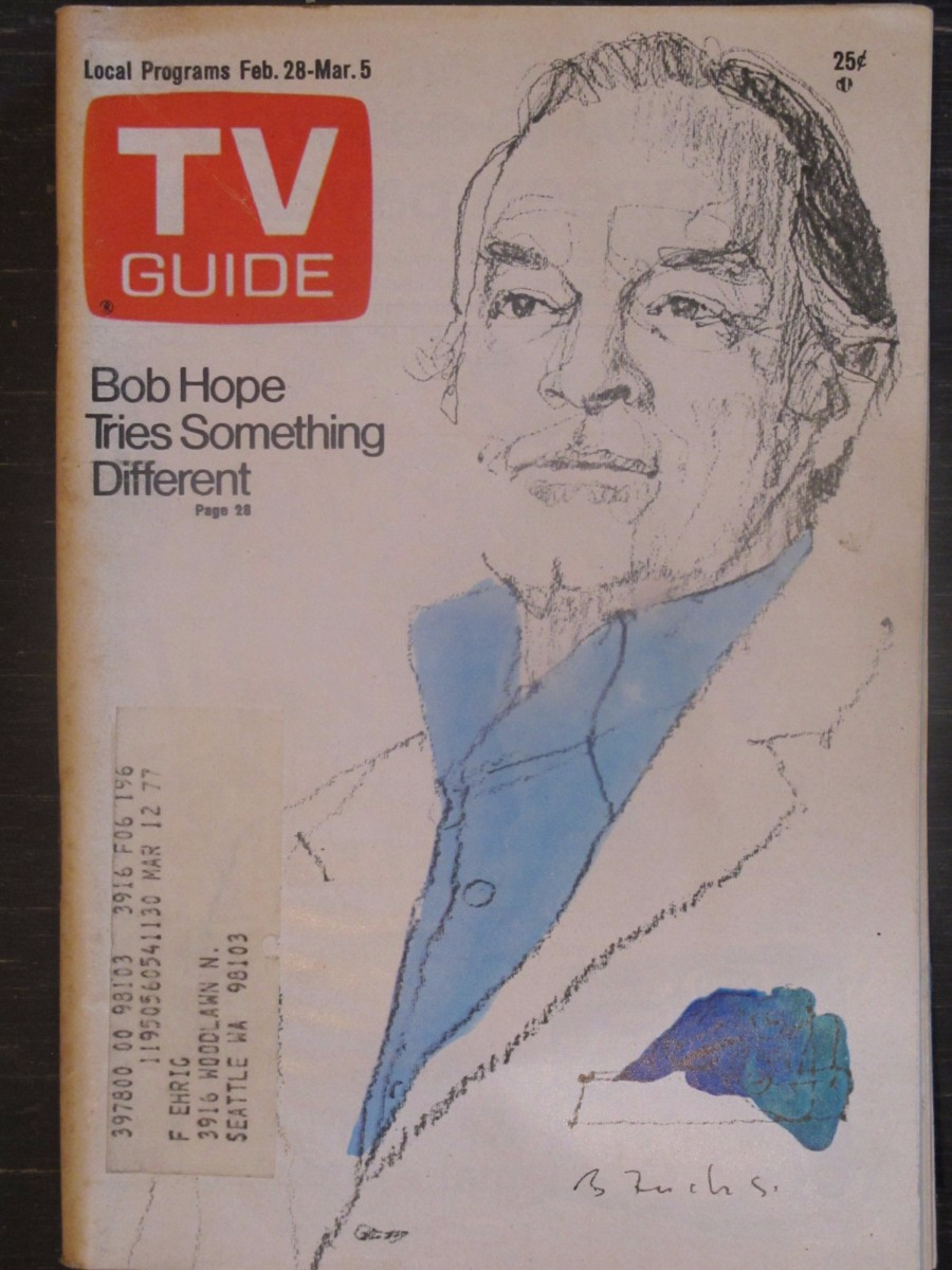 TV Guide Magazine February 28, 1976 Bob Hope