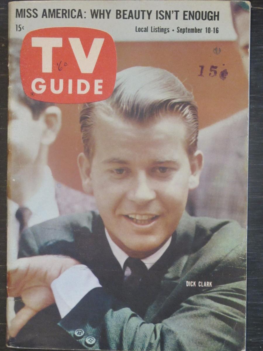 TV Guide Magazine September 10, 1960 Dick Clark