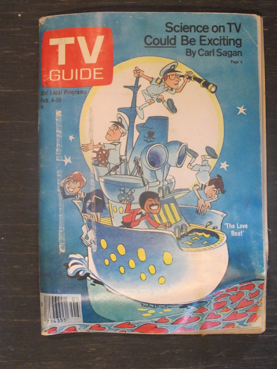 TV Guide Magazine February 4, 1978 The Love Boat