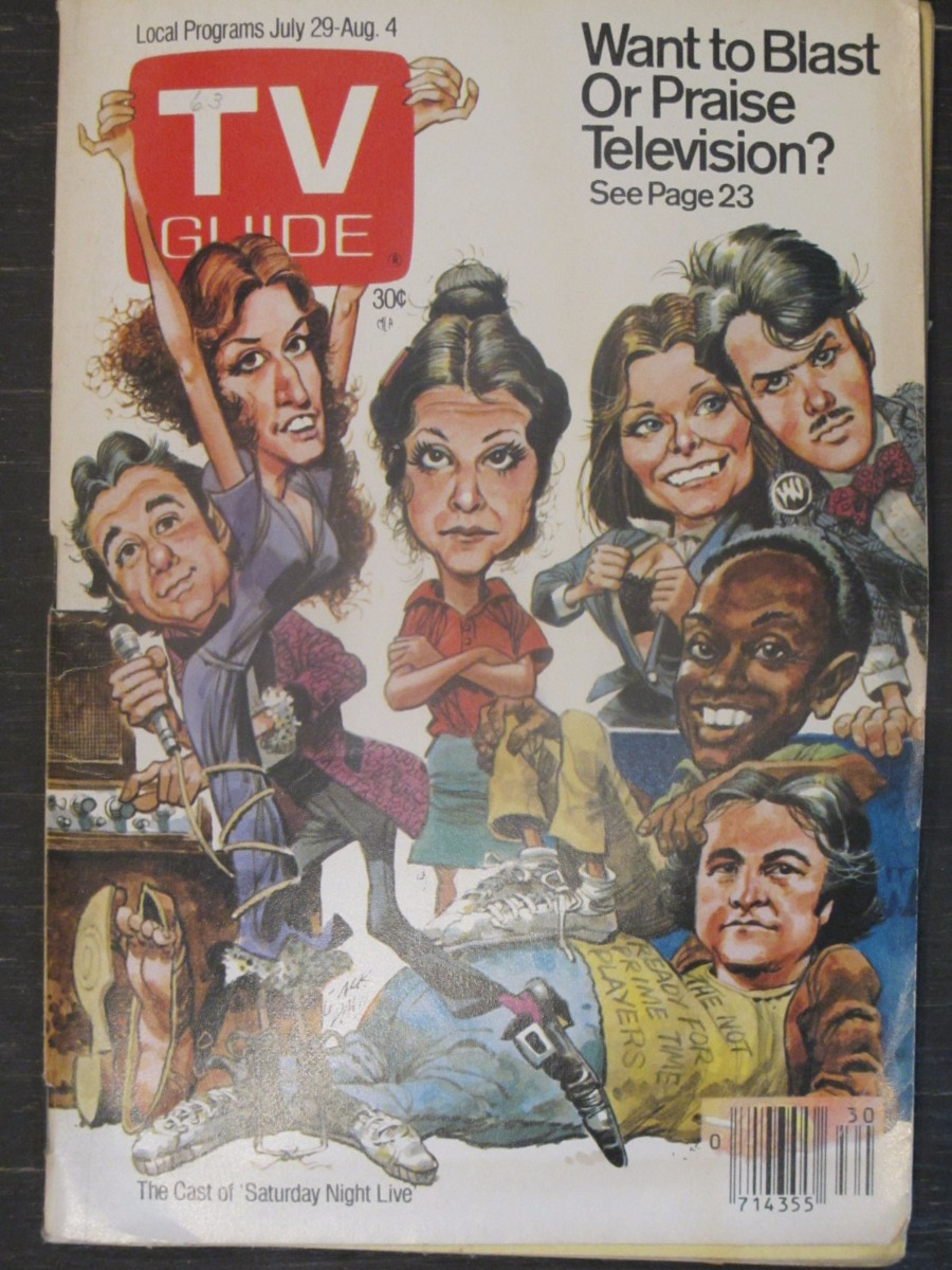 TV Guide Magazine July 29, 1978 Cast of Saturday Night Live