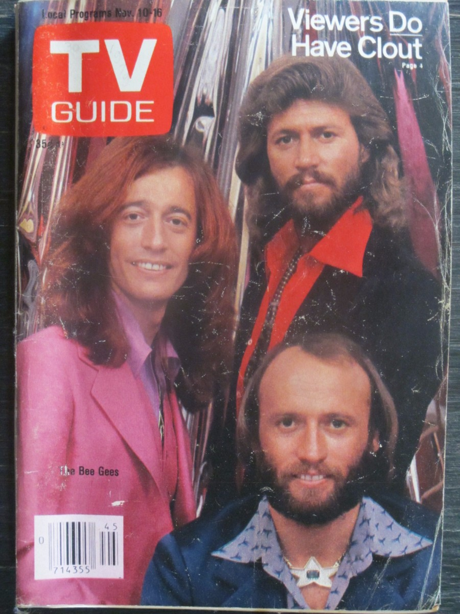TV Guide Magazine November 10, 1979 The Bee Gees