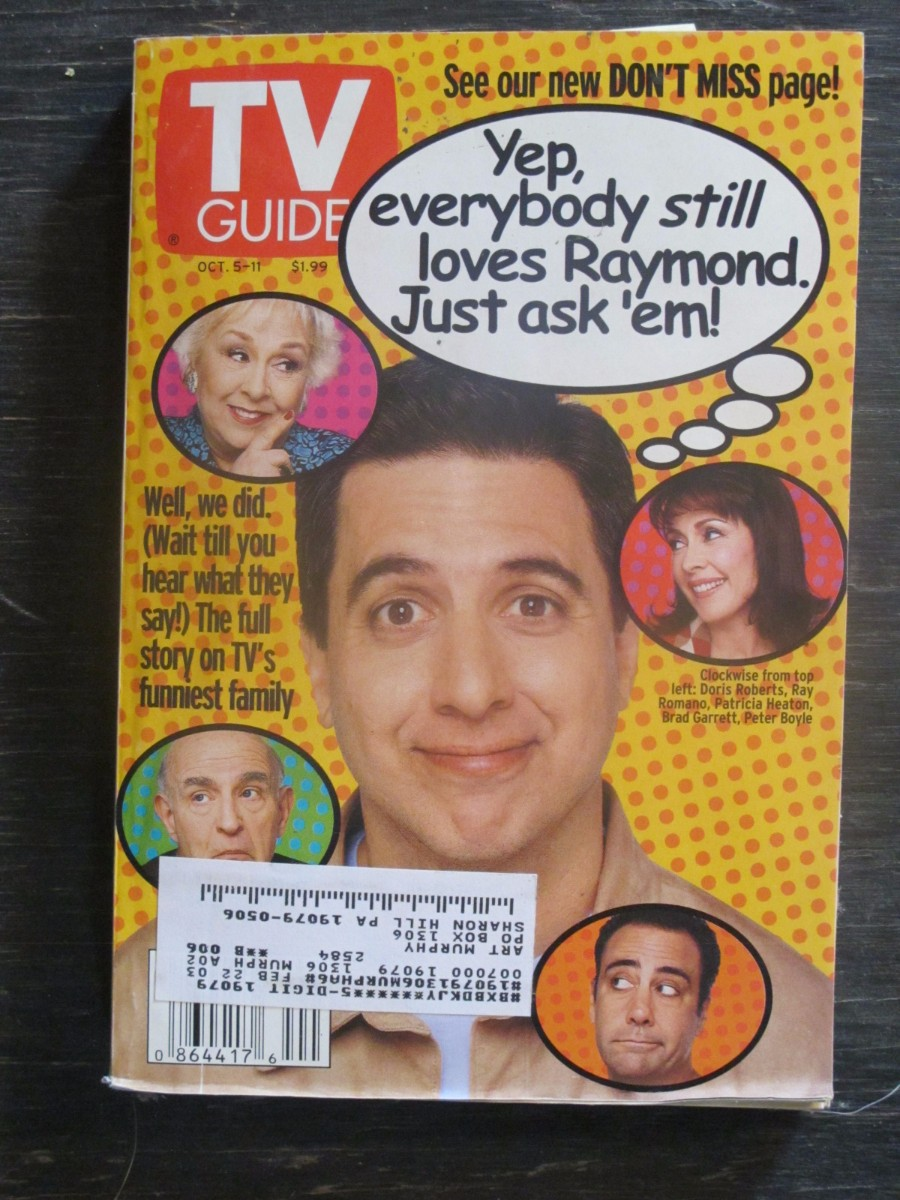 TV Guide Magazine October 5, 2002 Everybody Loves Raymond