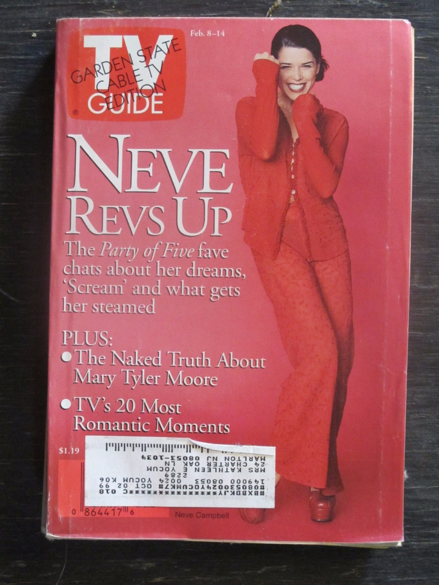 TV Guide Magazine February 8, 1997 Neve Campbell
