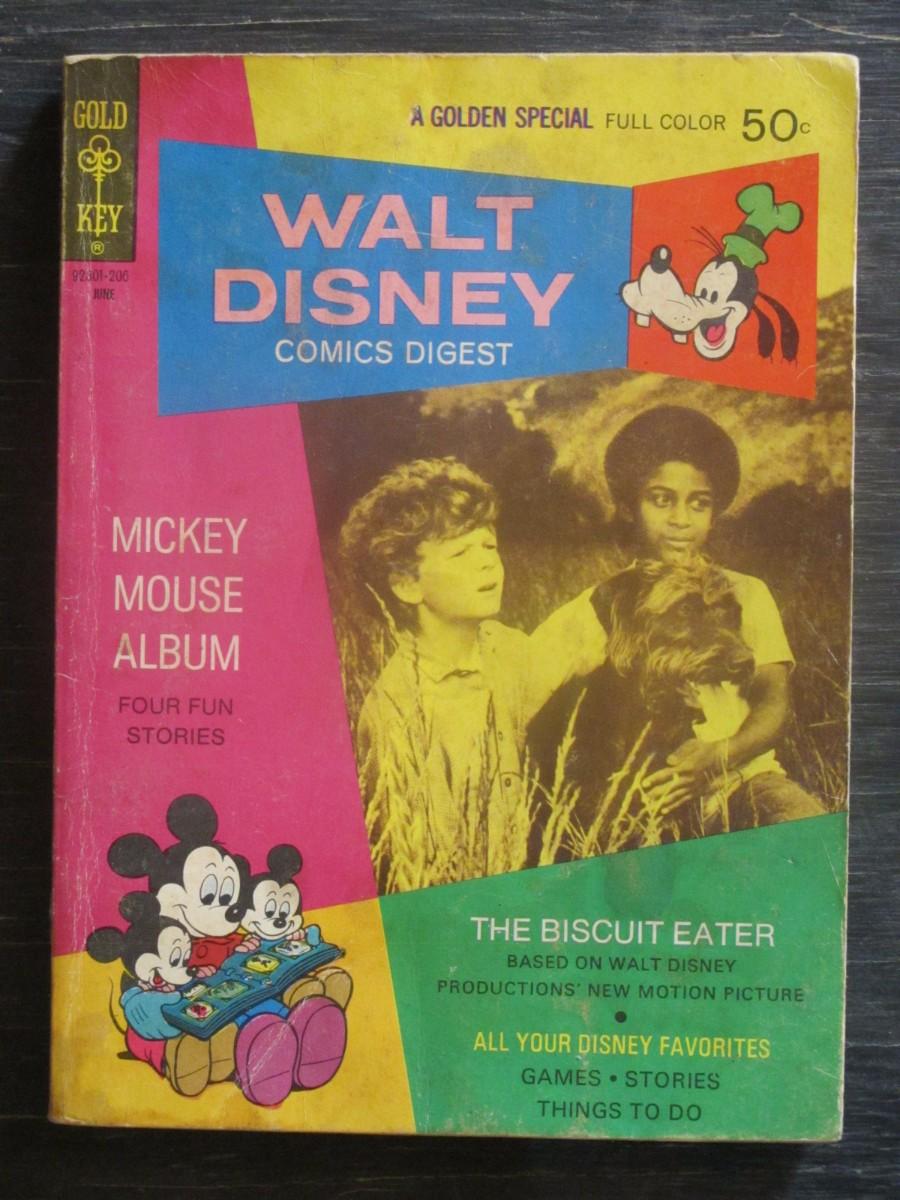 Gold Key Walt Disney Comics Digest Magazine June 1972 The Biscuit Eater
