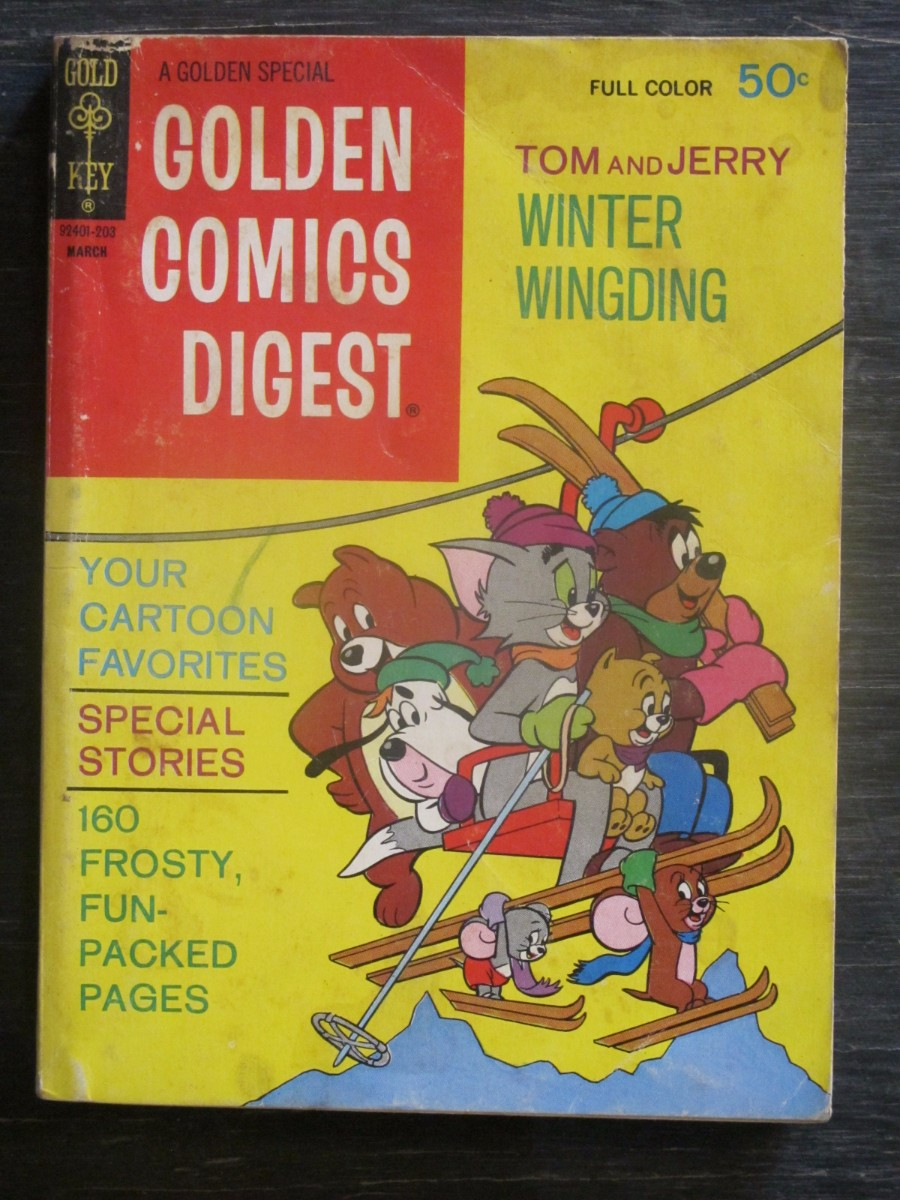 Gold Key Comics Digest #22 Magazine March 1972 Tom & Jerry