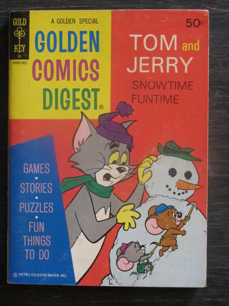 Gold Key Comics Digest #35 Magazine March 1974 Tom & Jerry