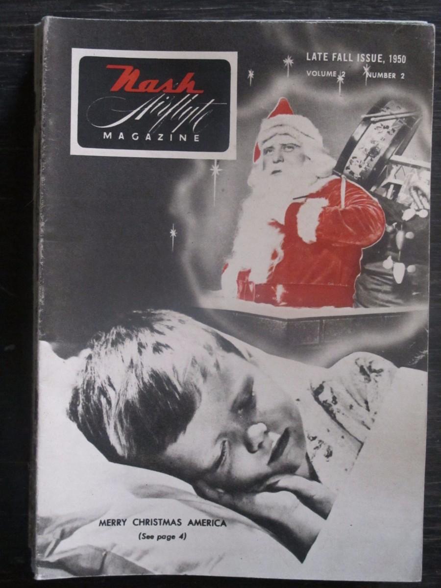 Nash Airflyte Magazine Late Fall 1950 Christmas