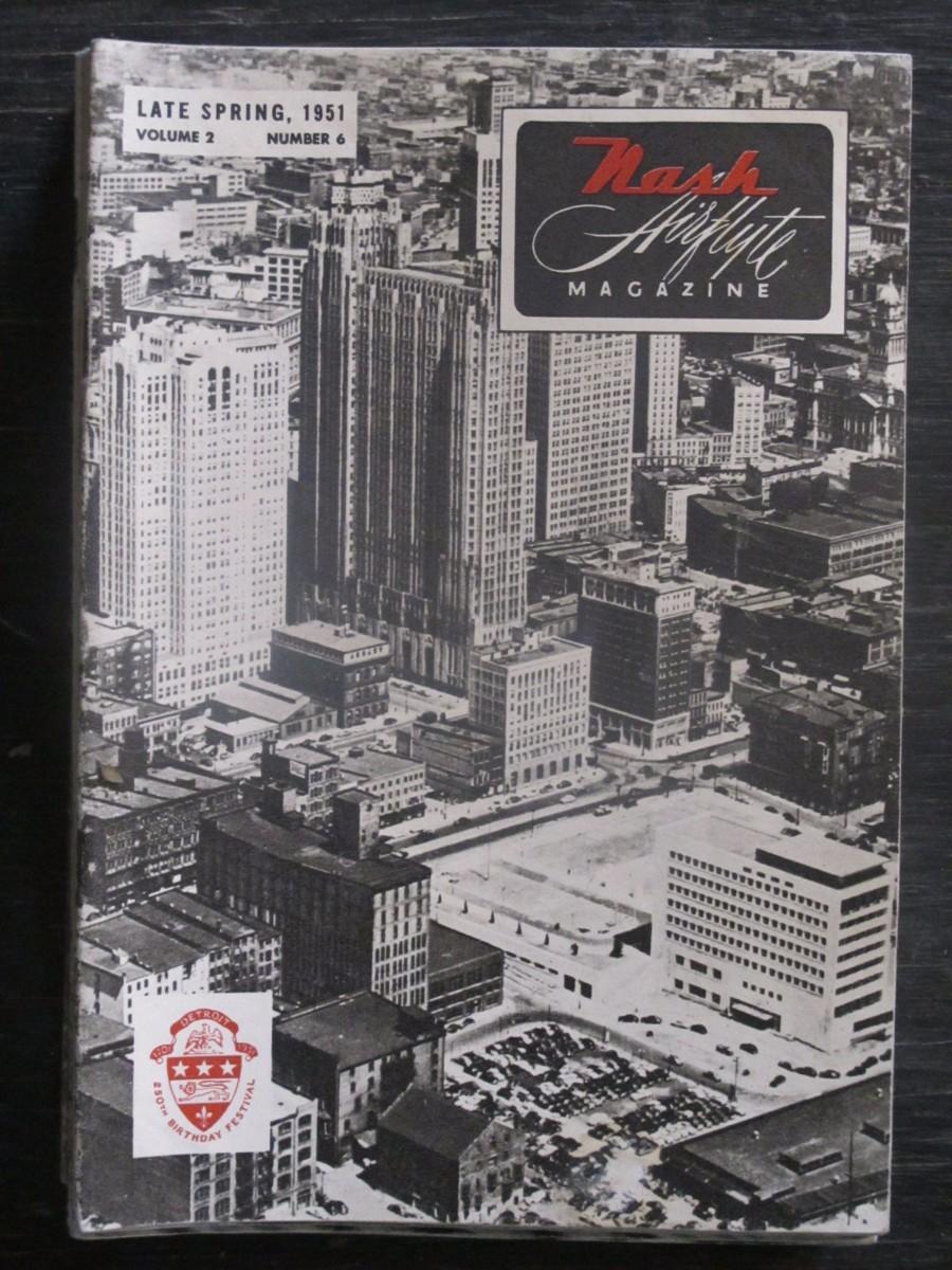 Nash Airflyte Magazine Late Spring 1951 Detroit