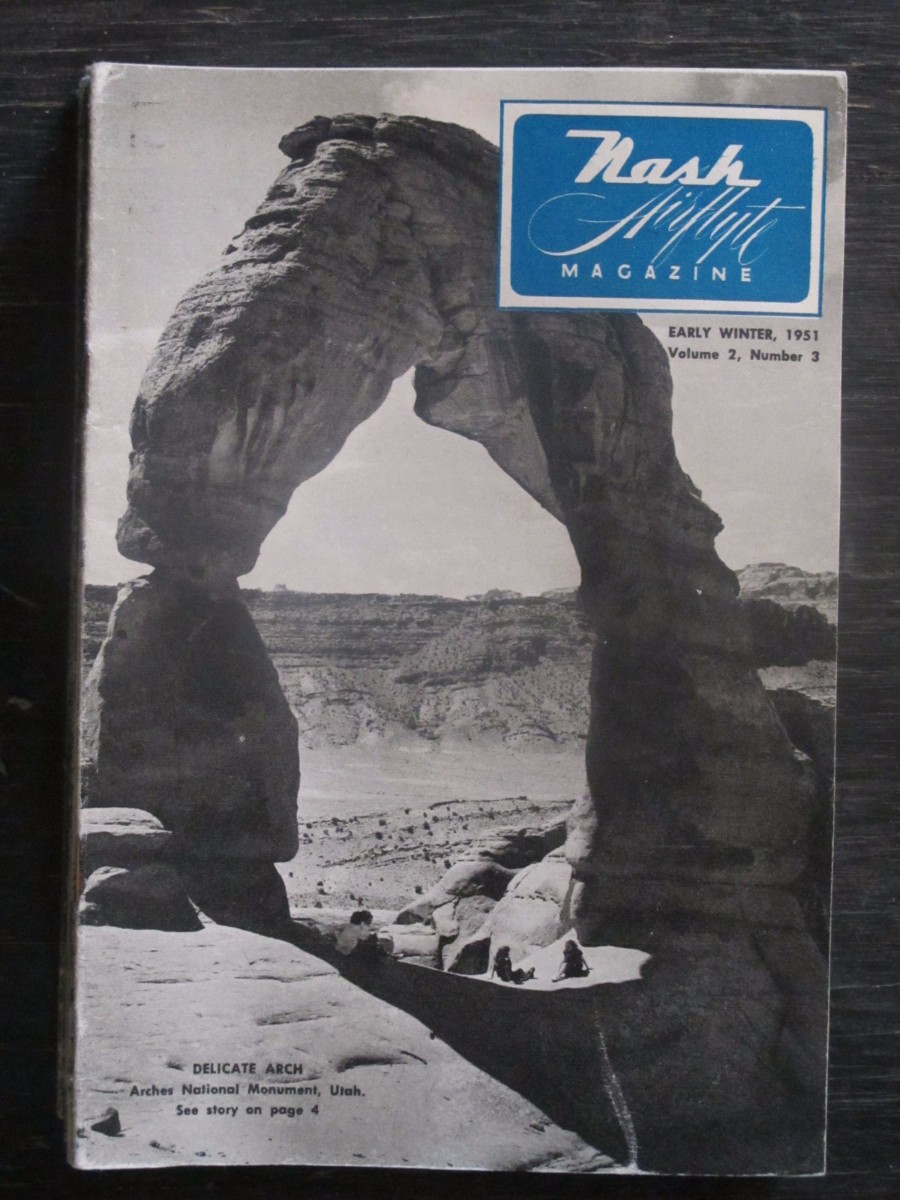 Nash Airflyte Magazine Early Winter 1951 Arches National Park