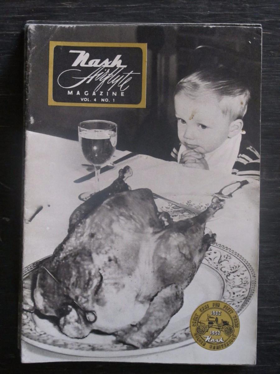 Nash Airflyte Magazine 1952