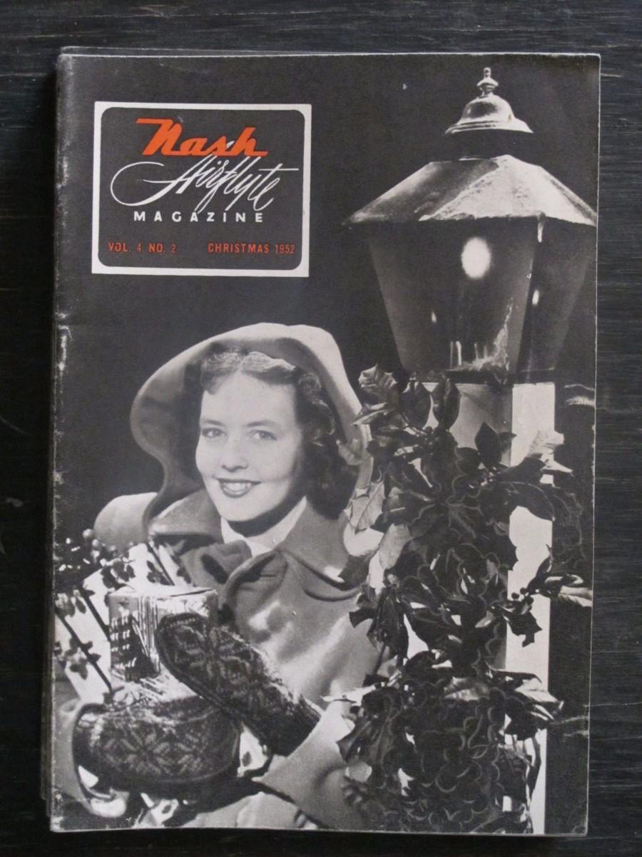 Nash Airflyte Magazine Christmas 1952