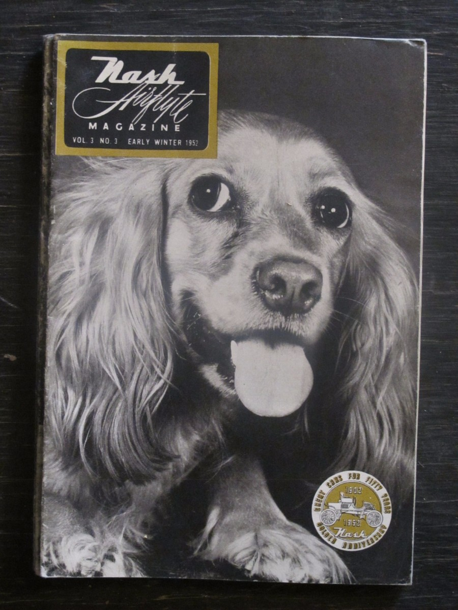 Nash Airflyte Magazine Early Winter 1952 West Minster Dog Show