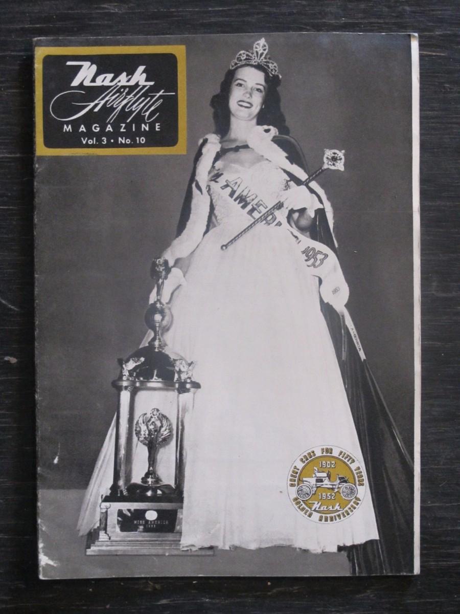 Nash Airflyte Magazine 1953 Miss America Neva Jean Langley