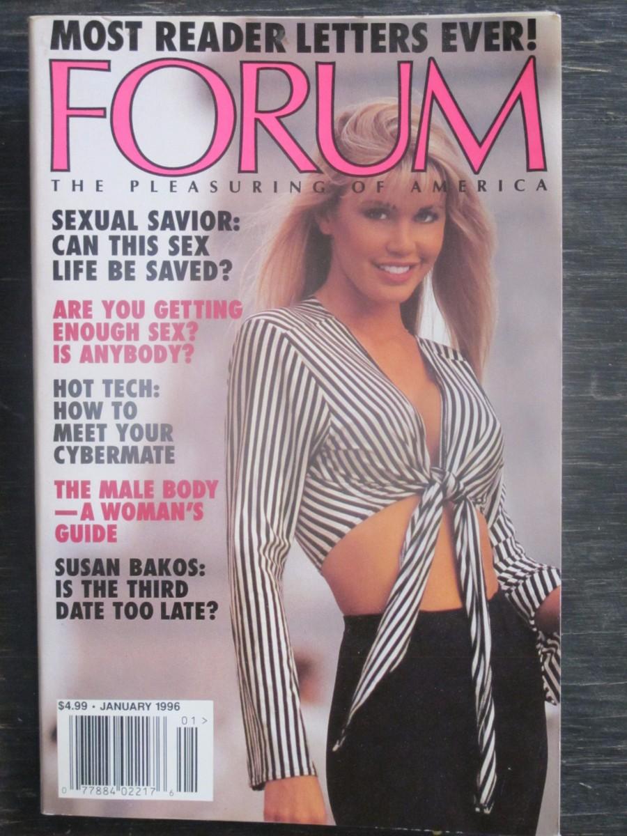 Penthouse Forum Magazine January 1996