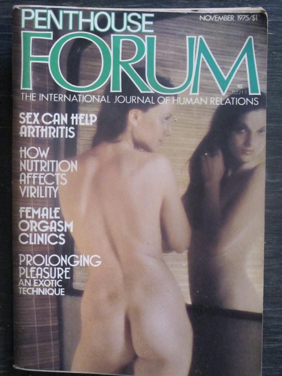 Penthouse Forum Magazine November 1975