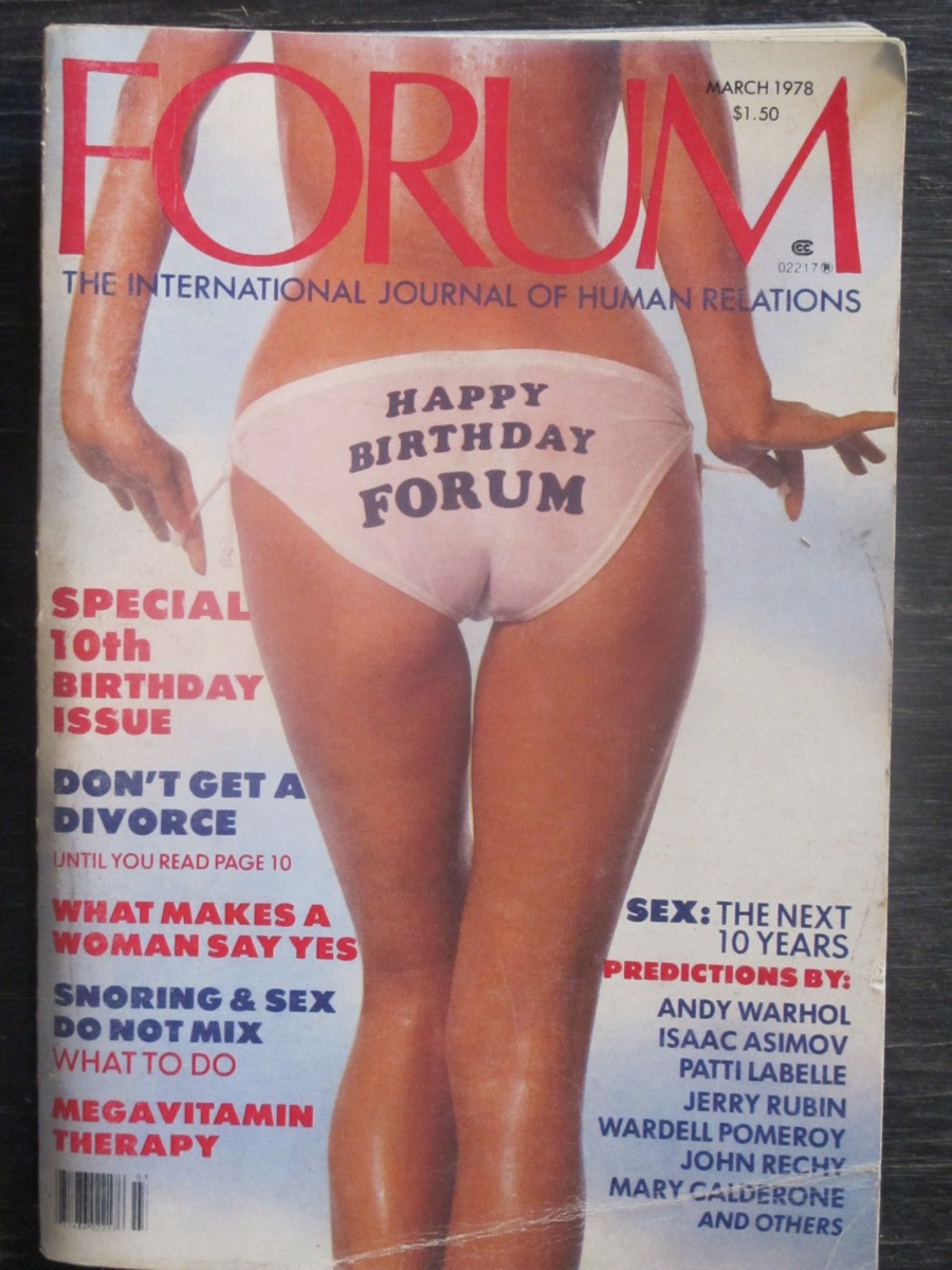 Penthouse Forum Magazine March 1978